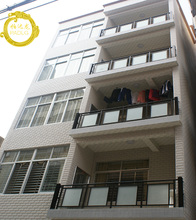 厂家楼te栏杆扶手/mx窗栅栏/铝镁合金玻璃立柱/室内室外护栏