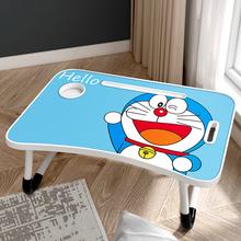 笔记本te脑桌床上可er学生书桌宿舍寝室用上铺懒的神器(小)桌子