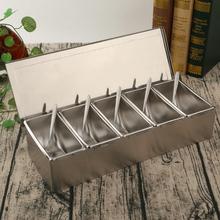 全钢3te4不锈钢调en店方形带盖储物盒家用调料罐佐料盒