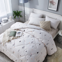 新疆棉te被双的冬被ti絮褥子加厚保暖被子单的春秋纯棉垫被芯