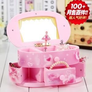 <span class=H>音乐盒</span>跳舞公主旋转首饰八音盒创意芭蕾女孩儿童女生生日快乐礼物