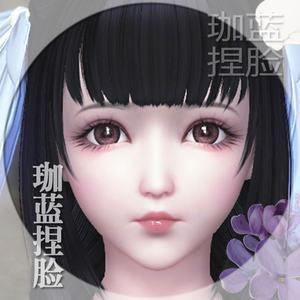 【珈蓝】天涯明月刀捏脸 天刀捏脸数据 少女脸型数据 无桑