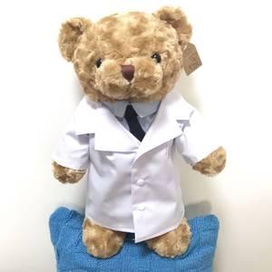 毛绒布艺类玩具<span class=H>公仔</span>熊换装娃娃送女友儿童礼物睡觉抱可爱的医生熊