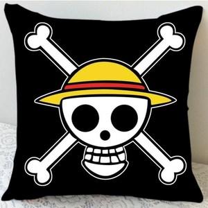 海贼王路飞乔巴娜美女帝动漫抱枕靠垫方枕靠枕生日礼物可来图订做