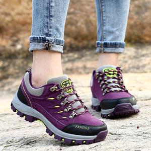 冬季登山鞋女防水徒步鞋防滑运动鞋旅游鞋户外鞋保暖男女鞋爬山鞋