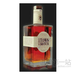 包邮 洋酒Kentucky Town Branch Bourbon 肯塔基波本威士忌