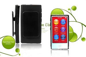 新款 苹果 <span class=H>iPod</span> nano7 保护套 TPU 清水套 软套 防摔 带夹子 配件