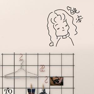 ins网红宿舍改造墙贴纸少女心卧室布置墙壁纸装饰小房间用品自粘