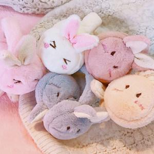 冬季毛绒可爱<span class=H>兔子</span>耳朵圆形耳暖耳包耳捂学生日系耳套保暖<span class=H>耳罩</span>女生