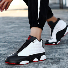 Men's sports shoes, net red shoes, running basketball shoes, men's fashionable summer breathable love and respect for aj13 panda men's shoes