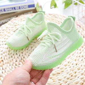 童鞋女童镂空运动鞋网鞋夏季学生跑步鞋网面透气休闲男女童网眼鞋