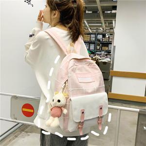 少女韩版可爱背包学生大容量双肩包