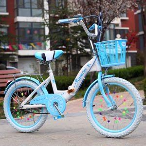 儿童<span class=H>自行车</span>1618寸折叠车男女中小学生车2022寸淑女车轻便通勤单车