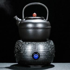 琨德电陶炉煮茶器茶壶套装<span class=H>陶瓷</span>普洱泡茶电热煮茶炉功夫烧茶烧水壶
