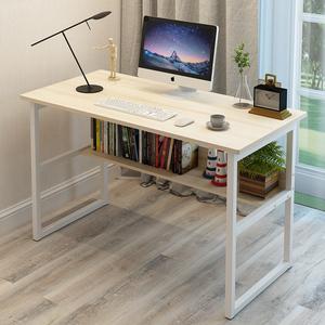 电脑桌台式家用桌子卧室<span class=H>书桌</span>简约现代写字桌学生学习桌宜家经济型