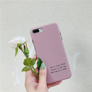 韩风简约英文vivox9s手机壳x21全包软壳x20个性硅胶套x9splus女款