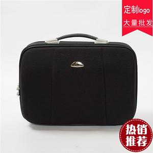 商务14寸迷你公文包16寸小行李箱有锁手提包电脑包帆布手提公文包