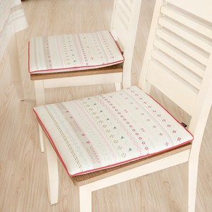 波西米亚椅垫餐桌椅垫布艺田园风居家椅垫加厚可拆洗椅垫防滑<span class=H>坐垫</span>