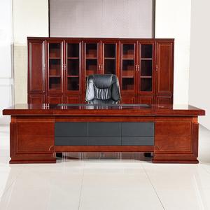油漆老板办公桌总裁桌办工桌大班台经理主管桌办公<span class=H>家具</span>电脑桌椅