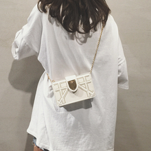Ins Super Fire Slant Bag Girl New Chao Korean Slant Bag in Summer Chain New Bag Bag on One Shoulder