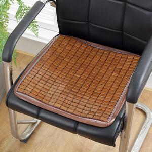 夏天麻将凉席<span class=H>坐垫</span>办公室电脑椅垫夏季汽车学生沙发椅子加厚竹<span class=H>坐垫</span>