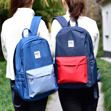 Fashion, Simple and Large Capacity Korean Wear-Resistant Soft Girls Backpack for Men and Women of Deli Primary and Secondary Schools