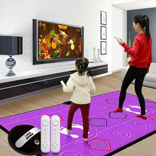 Cool dance PU dance blanket wireless double TV computer interface dance machine