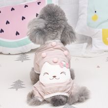 Dog clothes, spring and summer four-legged clothes, Teddy Bear cotton household clothes, pet, small dog, puppy, cat clothes, autumn