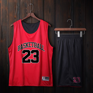 <span class=H>篮球</span>服套装定制男女球衣背心学生比赛训练双面<span class=H>篮球</span>队服团购印字号