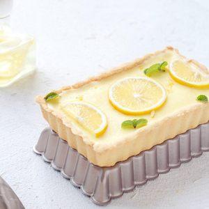 学厨4寸长方形活底蛋糕模具烘焙家用不沾<span class=H>烤盘</span>烤箱用做蛋糕的工具