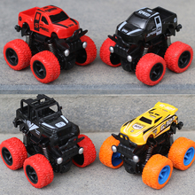 Inertia 4WD SUV, child boy model car, anti falling toy car, 2-3-4-5 year old baby car