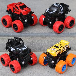 惯性四驱越野车儿童男孩模型车抗耐摔玩具车2-3-4-5岁宝宝小<span class=H>汽车</span>