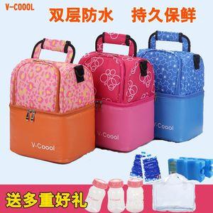 -COOOL母乳保鲜包户外背奶包 多功能蓝冰冰包奶瓶保温袋储奶包