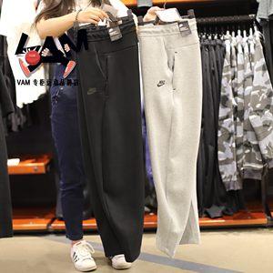 NIKE<span class=H>耐克</span>男裤2018秋季运动裤针织收口修身长裤928508-011-063-451