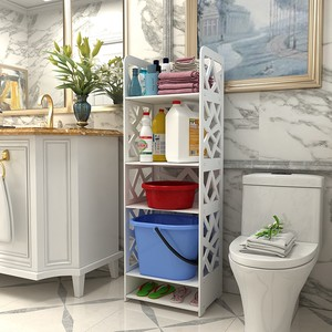 卫生间置物架落地储物架厕所洗手间<span class=H>脸盆架</span><span class=H>浴室</span>多层防水收纳架