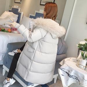 冬季羽绒棉服女新款反季ins棉袄过膝加厚面包服中长款<span class=H>棉衣</span>服外套