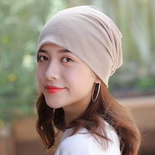 Summer cap, cotton breathable thin cap, chemotherapeutic cap, women's white hair, bald cap, moon sleeping cap, bareheaded cap, air conditioning cap