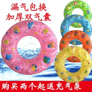 【双气囊】儿童成人游泳圈加厚泳圈救生圈