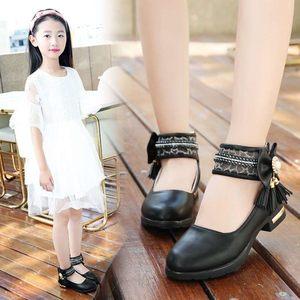 18年新款5到12岁8公主单鞋<span class=H>舞蹈鞋</span>小学生7女童2017新款夏季9中大童