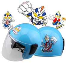 18 Years New Motorcycle Helmets for Children and Man Cartoon Helmets for Men and Women