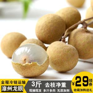 3斤 福建漳州石硖<span class=H>龙眼</span>新鲜水果桂圆当季时令果蔬果园直发现摘现发