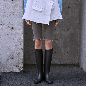 韩版雨鞋女时尚款外穿<span class=H>雨靴</span>成人高筒防水马靴长筒女士水鞋防滑水靴