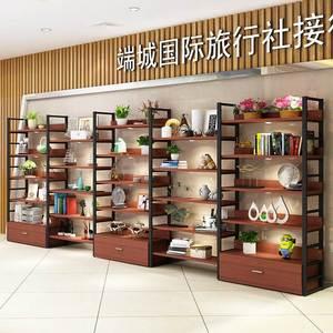 鞋<span class=H>货架</span>鞋店鞋柜展示架商场多功能落地式便利店模型架展柜新款店铺