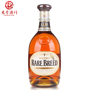 洋酒 美国WildTurkey Rare Breed威凤凰珍藏波本威士忌酒750ml