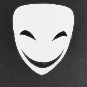 演出表演漆黑的子弹蛭子影胤<span class=H>面具</span>cos装扮恐怖鬼脸v字小丑树脂<span class=H>面具</span>