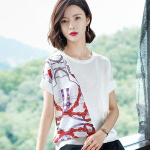 女子夏季款<span class=H>毛衣</span>套头针织衫宽松<span class=H>外套</span>低圆领女毛针织衫女士衣服。