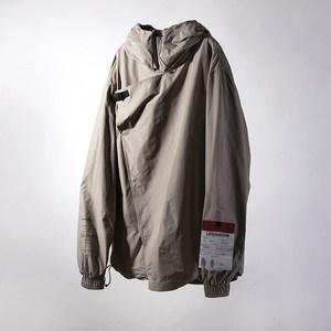 LIFEGOESON 2018ss khaki dust-coat 便携轻便款卡其色<span class=H>风衣</span>