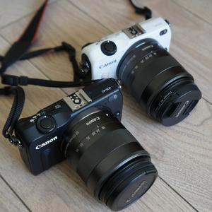佳能二手微单相机eosM M2 M3 M10 M6单电高清入门级<span class=H>数码</span>自拍美颜