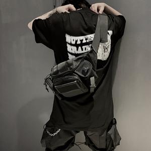 潮流设计BELT BAG城市机能多功能口袋防水<span class=H>腰包</span>斜挎<span class=H>胸包</span>男女单肩包