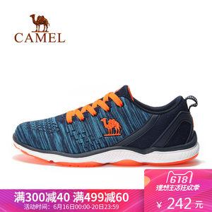CAMEL骆驼运动<span class=H>男</span>款<span class=H>跑鞋</span> 减震<span class=H>透气</span>跑步鞋 <span class=H>男</span>士低帮休闲<span class=H>系带</span>运动鞋